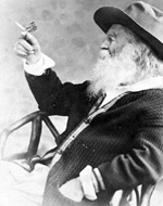 Mr. Walt Whitman (and butterfly)