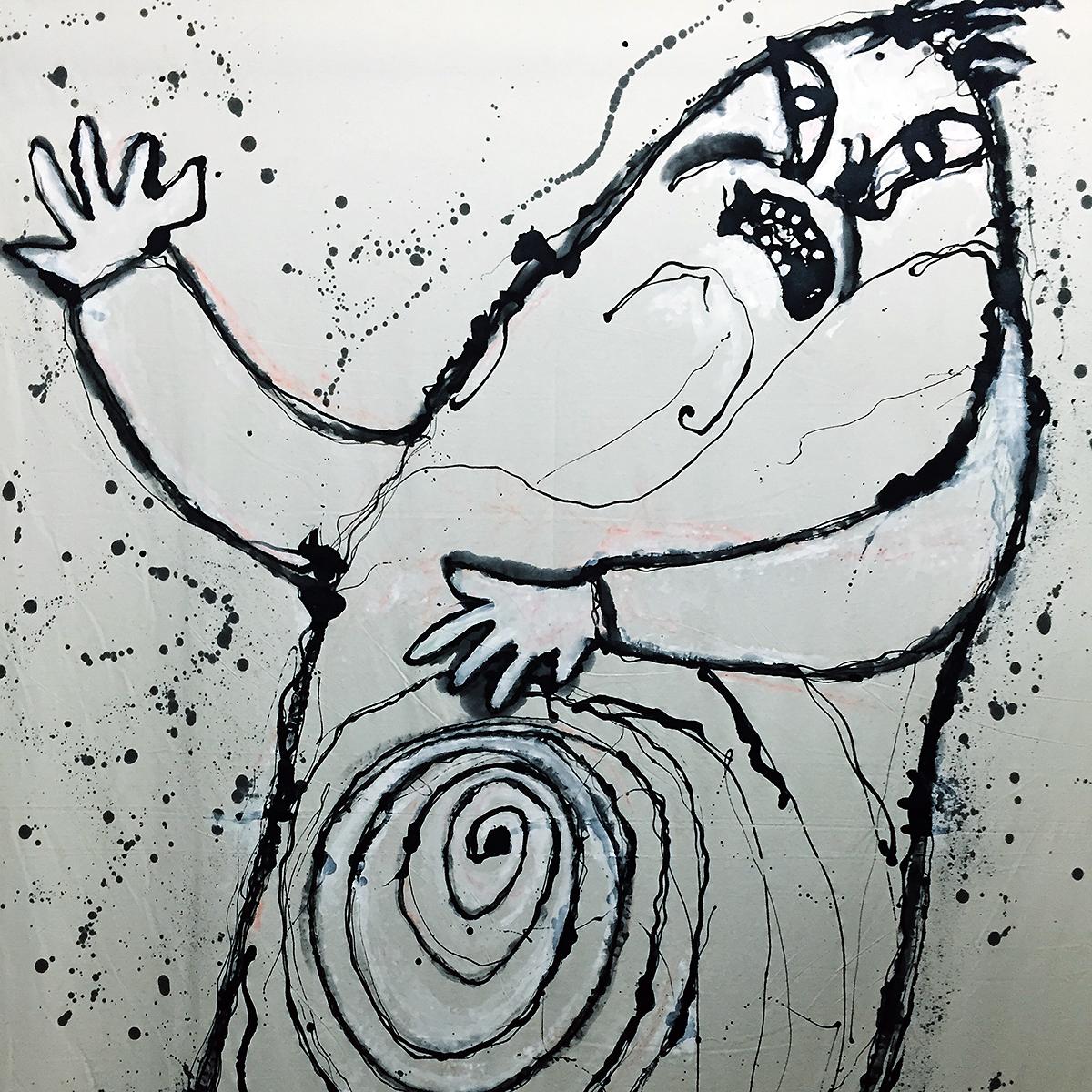 A caricature of Balzac?