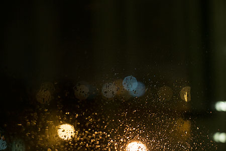 a screen-scattering storm