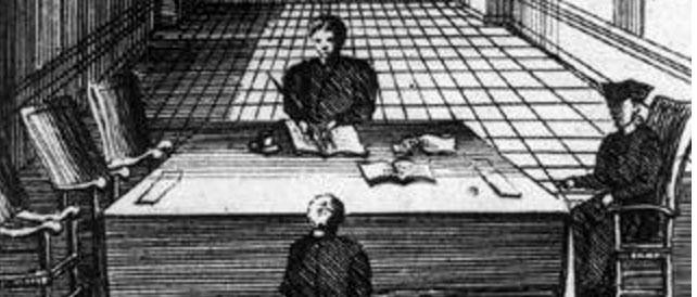 Inquisition Interrogation, Bibliothèque Nationale, Paris, France
