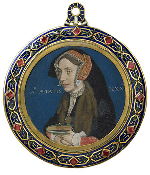 Holbein portrait of Margaret More Roper