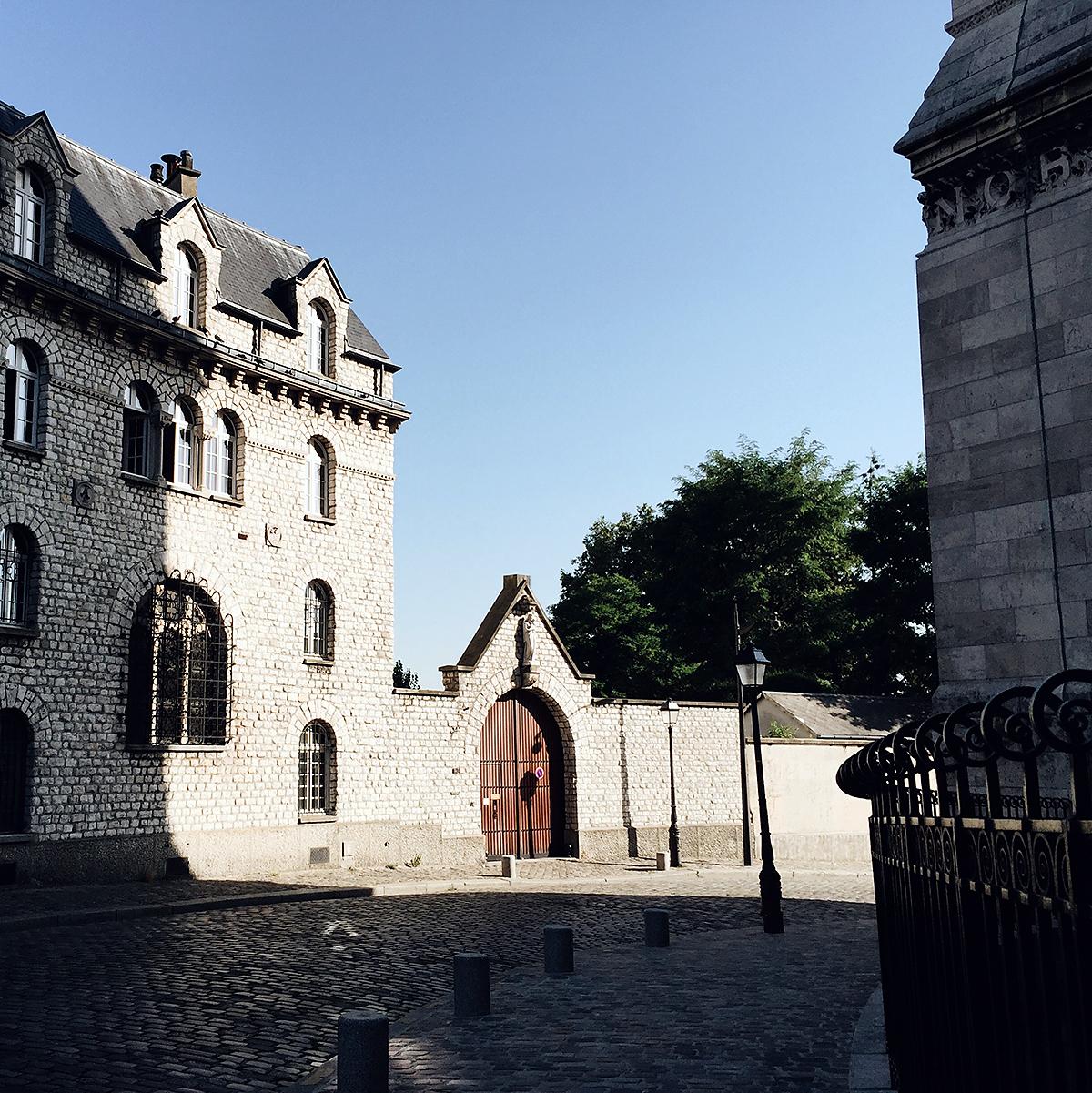 The roads around Sacré-Coeur