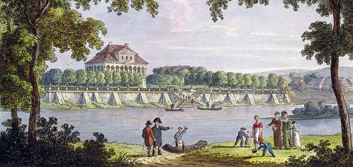 A river scene.
