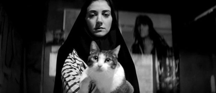 A scene from 'A Girl Walks Home Alone'