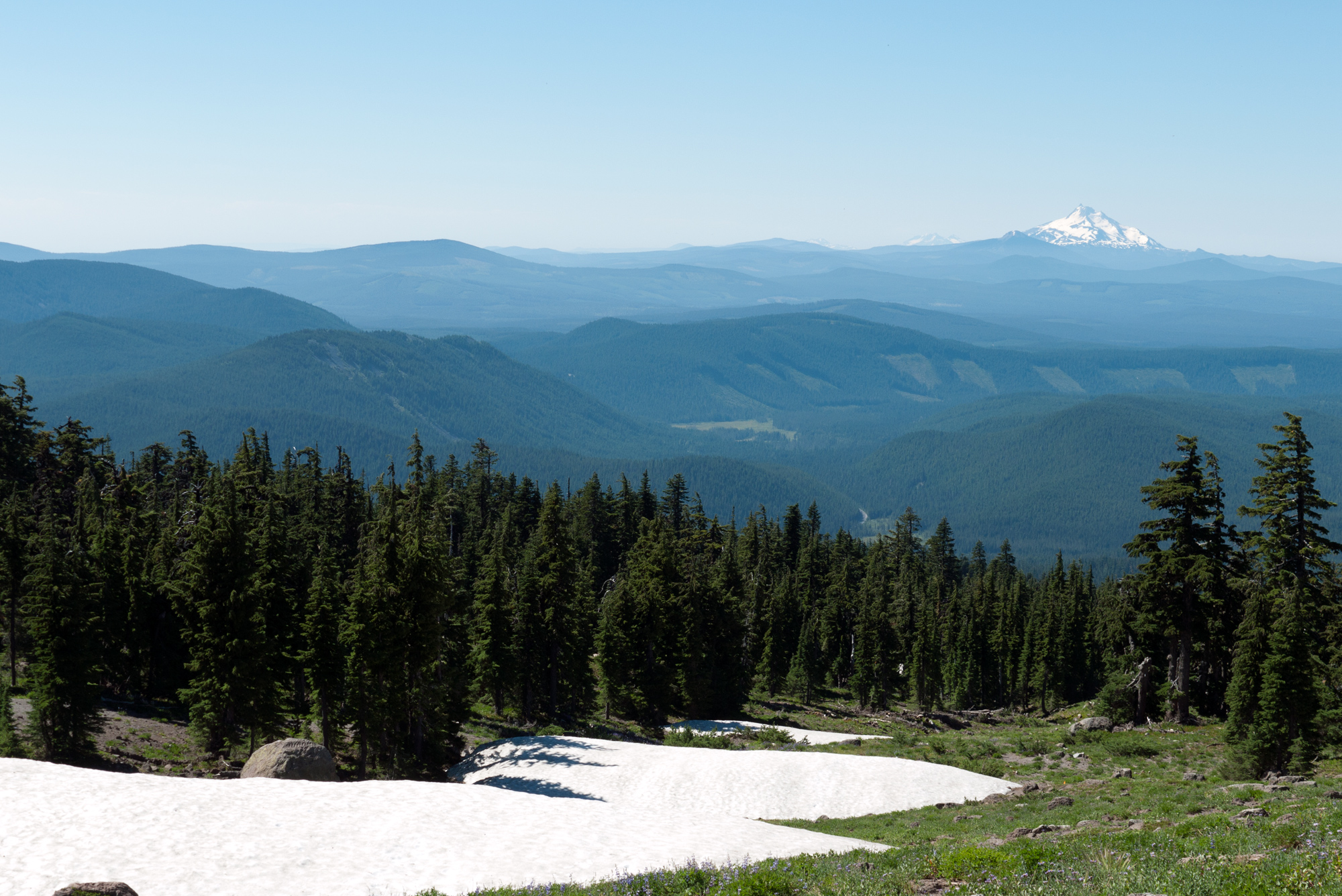 The view from Mt. Hood