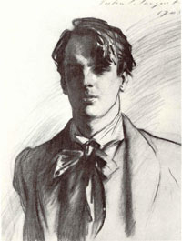 John Singer Sargent sketch of WBY