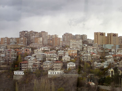 view in Yerevan