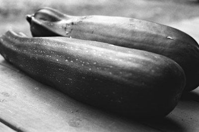 once a zucchini, courgette, now a marrow